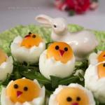 Wielkanocne kurczaki z...