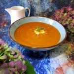 Kremowa zupa z pieczonej...