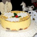 Sernik świąteczny