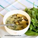 Zupa szczawiowa i majowy...