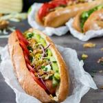 Hot dogi z kiełbaskami...