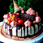 Tort Topniejące Lody - ...