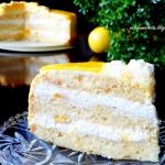 Tort Mango z Lustrzaną...