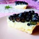 Ciasto Ekler z Borówkami