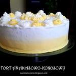 Tort Ananasowo-Kokosowy
