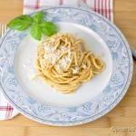 Spaghetti z pesto z...