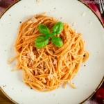Spaghetti gotowane w...