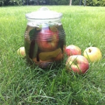 kiszone jabłka