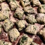 Gnudi - kluski włoskie