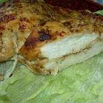 Pieczony filet z indyka:)