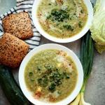 Zupa z cukinii i kapusty...