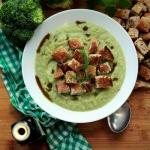Zupa z zielonych warzyw...