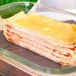 Lasagne  na naleśnikach