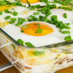 Zapiekanka jajeczna