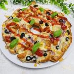 Szybka pizza na chlebie...