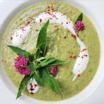 Miętowa zupa cukiniowa