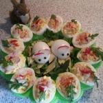 Jajka faszerowane  Myszki