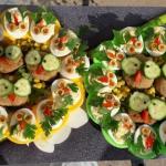 Jajka faszerowane  Sowy