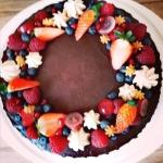 Pralinowy tort...