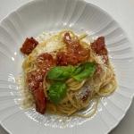 Spaghetti ze świeżymi...