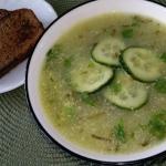 Zupa z zielonych...