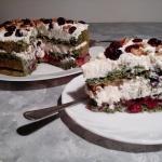 Wytrawny tort szpinakowy