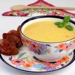 Zupa krem z kiszonej...