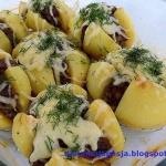 Ziemniaki z mięsem...