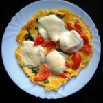Omlet z jarmużem,...