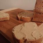 Domowy chleb i hummus....