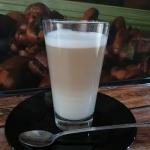Kawa latte macchiato z...