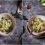 Ryż z awokado i szynką...