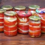 Salatka z pomidorow na zi...