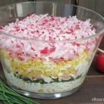 Wiosenna salatka warstwow...