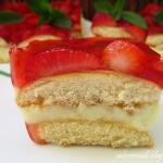 Ciasto truskawkowo - budy...
