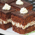 Ciasto czekoladowe malibu