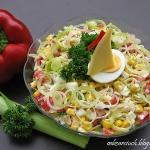 Salatka z porami