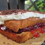 Ciasto z wiśniami i...