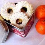 Pomarańczowe ciasteczka...