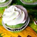 Muffinki z zielona herbat...