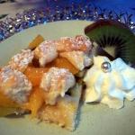 Ciasto skubane z owocami