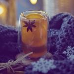 herbata + cynamon + pomar...