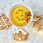 herbata + pomarancza + go...