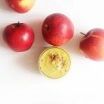 jabłko + cynamon + sok...