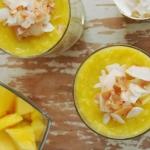chia + mango + mleko koko...
