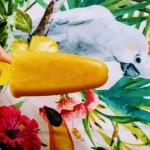 mango + banan