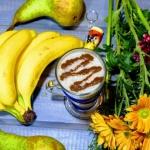 gruszka + banan + mleko k...