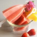 truskawki + brzoskwinie...