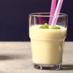 rabarbar + banan + mleko...