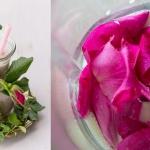 platki dzikiej rozy + mle...